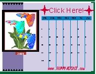 Guppy Calendar